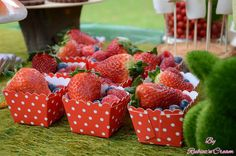 Strawberries - Little Big Company | The Blog: Bambi and Friends in the Enchanted Woodland Party by Rubiez n Cream