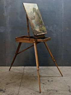 Vintage painter's easel