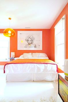 Orange Wall | The Novogratz