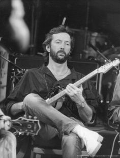 Eric Clapton. No words for this amazing man. He's music just touches my soul. TALENT, pure talent