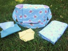 play diaper bag for dolls