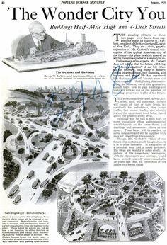 American City of Future (1925) #1