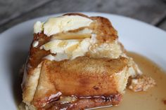 Kat's baked French toast