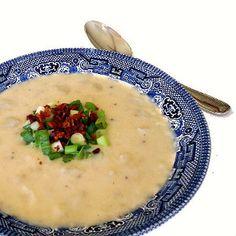 Easy Baked Potato Soup | FaveHealthyRecipes.com