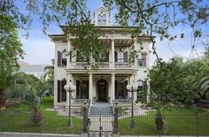 Peek Inside Anne Rice's Former New Orleans Mansion - by Curbed National. You can click the link to view a series of photos of the house. Gorgeous!