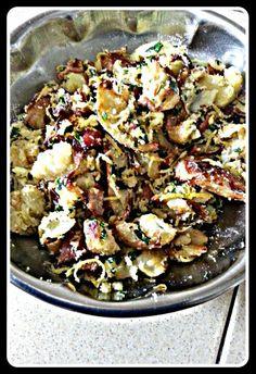 Smash Potatoes, Potatoes Salad, Lemon Zest Do, Fries Bacon, Meaty ...