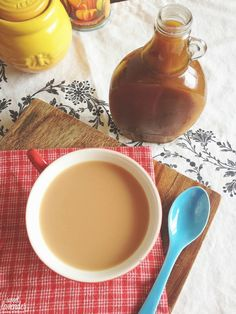 Homemade pumpkin spice syrup...for teas, coffees, pour over ice cream, yougurt, pancakes and waffles.