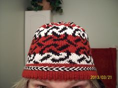 Free Pattern: Chain Link hat by Lisa Gayle
