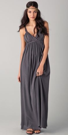 maxi dresses are so fun...love this look!