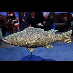 20th-Century Fake Copper Fish Weathervane