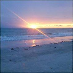 Just before dusk...Sunset on the Gulf Coast of Florida