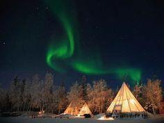 Aurora boreal, Laponia