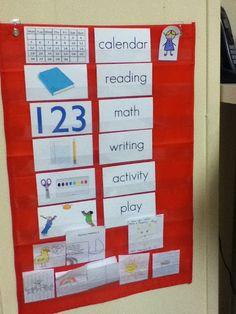 preschool schedule