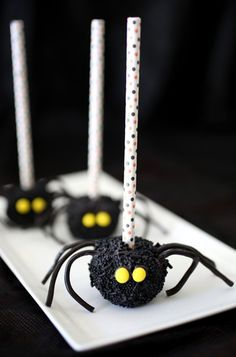 Marshmallow Spiders!
