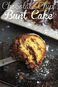 Chocolate Chip Bunt Cake