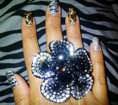 Pretty nails and ring