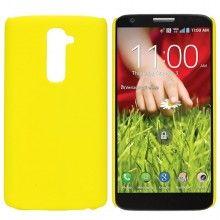 Carcasa LG G2 - Ultrafina Amarillo  $ 42,11