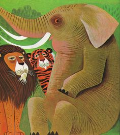 All sizes | Seiden - Jungle Animals Cover, via Flickr.