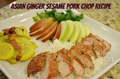 Asian Ginger Sesame Pork Chops