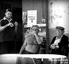 The Italian locals. Shot in Cetara, Amalfi Coast Copyright: Lisa van de Pol, Italian Summers