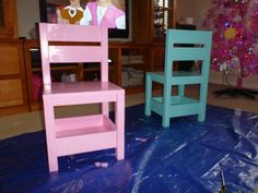 Storage chairs | Do It Yourself Home Projects from Ana White