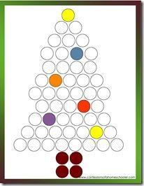 Lots of preschool worksheets for Christmas