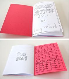 Do your children like to write stories? Follow this tutorial to make a handmade journal, then let your children write and illustrate a story to mail to your Compassion sponsored child #compassionletter #journal