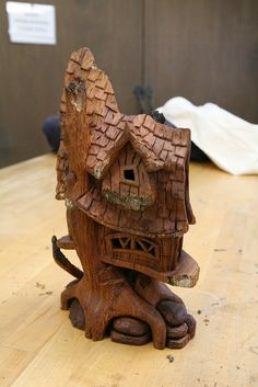 Whimsical Cottages and Treehouses with Tom Gow by John C. Campbell Folk School, via Flickr  Visit us at www.folkschool.org to find out more about our classes