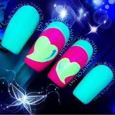Glow in the dark nail polish!