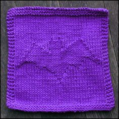 batty dishcloth