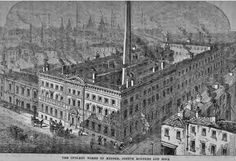 Cutlery Works of Joseph Rodgers Manufacturers and Merchants and Dealers of Cutlery of every description. Norfolk Street Sheffield and Cullum Street, Fenchurch, London