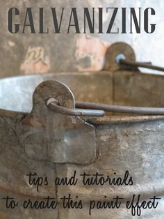 how to galvanize metal