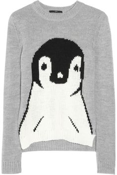 TIBI penguin sweater, get in my life.