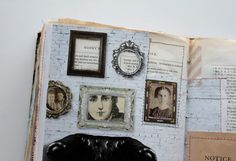 besottment by paper relics: Sewn Journaling Pages Part V