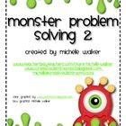 $3 My 'Monster Problem Solving' Freebie has proved so popular (over 65000 downloads!) and many of my valued followers have asked for more problems to ...