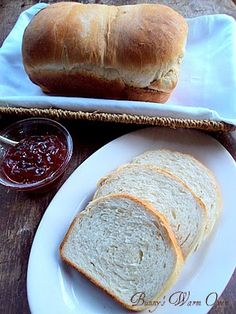Bunny's Warm Oven: Best Bread Recipe - sounds super simple & you can bake them and freeze :)