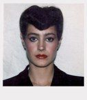 Polaroid photo of Sean Young from the set of Blade Runner