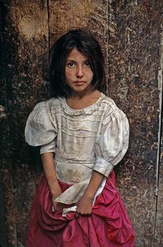 Young Afghan girl, by Steve McCurry
