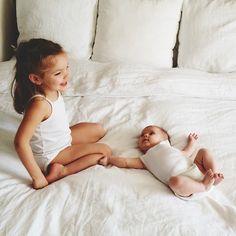Cute sibling pic.
