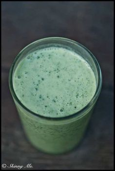 Coconut Milk Smoothie(268 cal) 1 cup coconut milk,1 banana,2 cups raw spinach.Directions:Place all ingredients in a blender and blend until smooth.