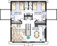 Floor plan, garage apartment