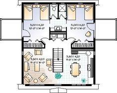 Floor plan, garage apartment