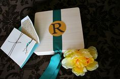 Wooden boxes {from Michaels} hold party favors for a tween or adult birthday