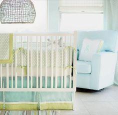 crib bedding, baby bedding, color combos, color schemes, baby boys, boy nurseri, sprout, babi, bedding sets
