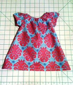 Newborn Peasant Dress-