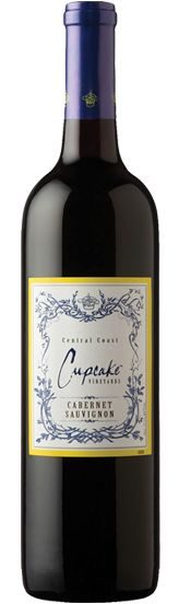 Cabernet Sauvignon by Cupcake... perfect with Chocolat!