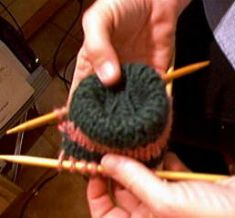 How to knit socks..