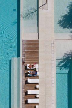 The Beach Houses in Jesolo Lido, Italy, by Richard Meier