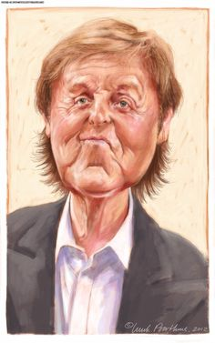 Paul McCartney by Luuk Poorthuis