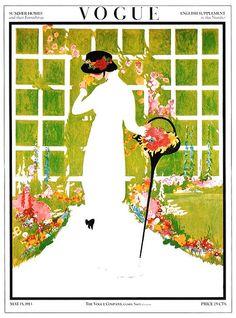 May flowers, Vogue, May 15, 1913 Very cool that May 15 is my birthday.